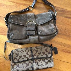 2 coach bags
